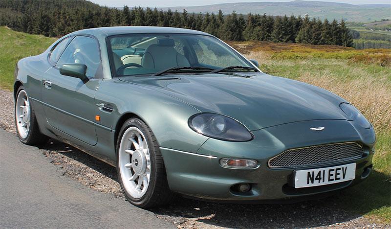 1996 Aston Martin Db7 Auto 3 2 Ik Classics